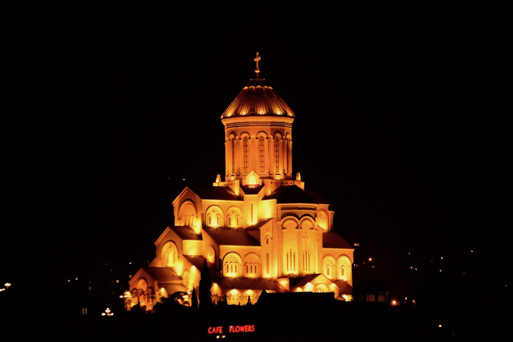 Sameba-Kathedrale in Tiflis - quer