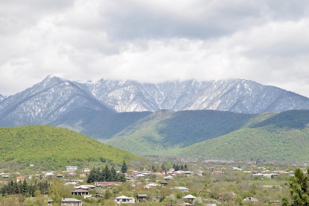 Blick von der Festung Gremi in Kachetien 2