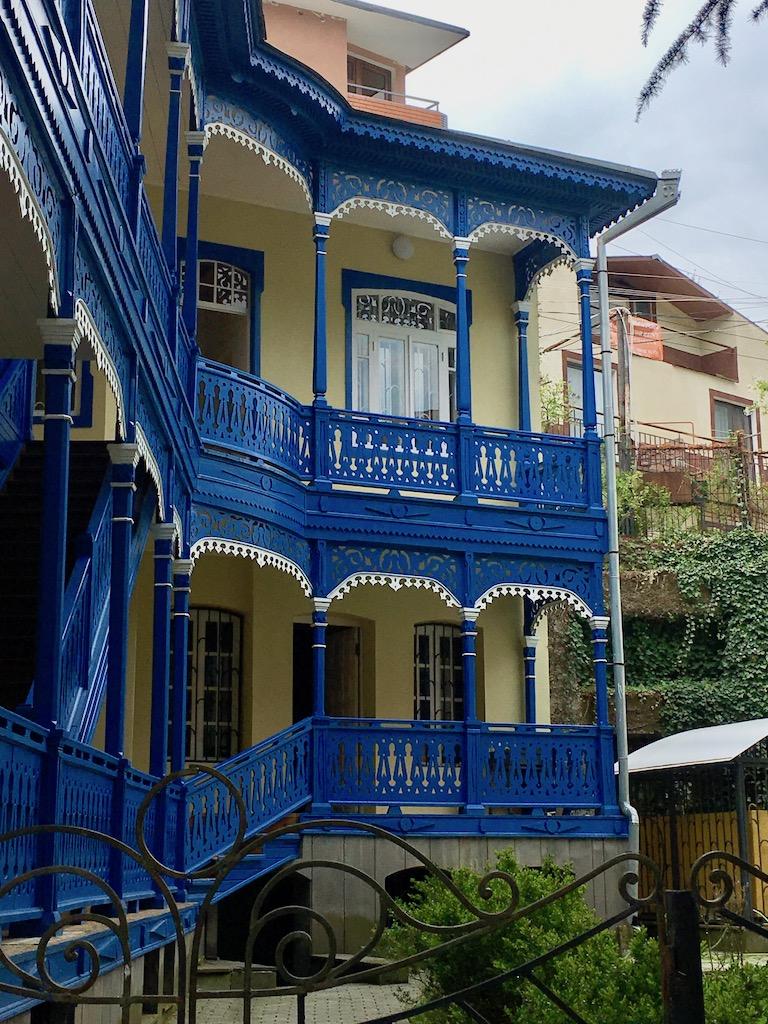 Borjomi - Samzche-Dschawachetien - typische Balkone
