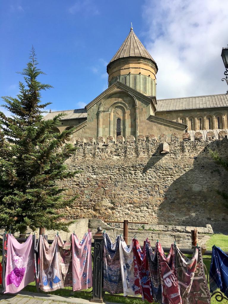 Kirche Sveti Tskhoveli in Mtskheta, der alten Hauptstadt Georgiens - Mtskheta-Mtianeti