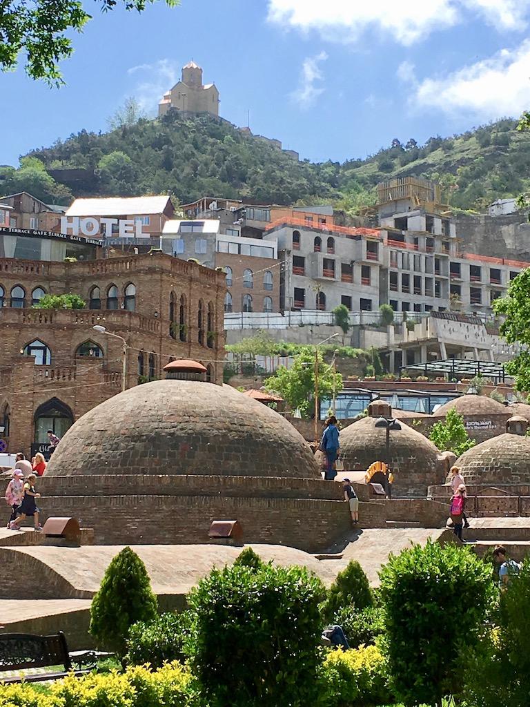 Bäderviertel in der Altstadt von Tiflis - Kartli