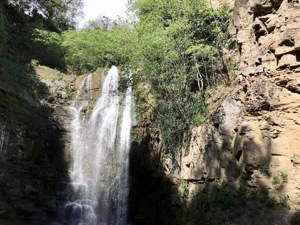 Wasserfall in der Altstadt von Tiflis - Kartli