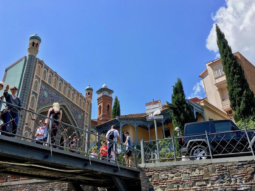 Das Blaue Bad in der Altstadt von Tiflis - Kartli