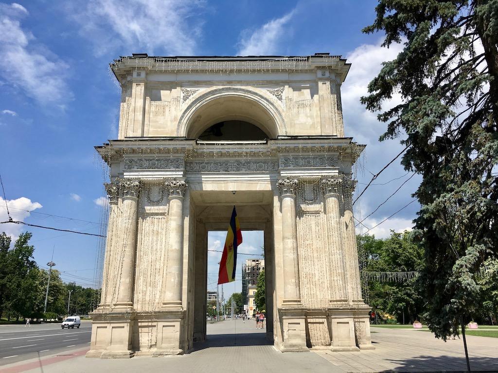Triumphbogen Chisinau, Moldova