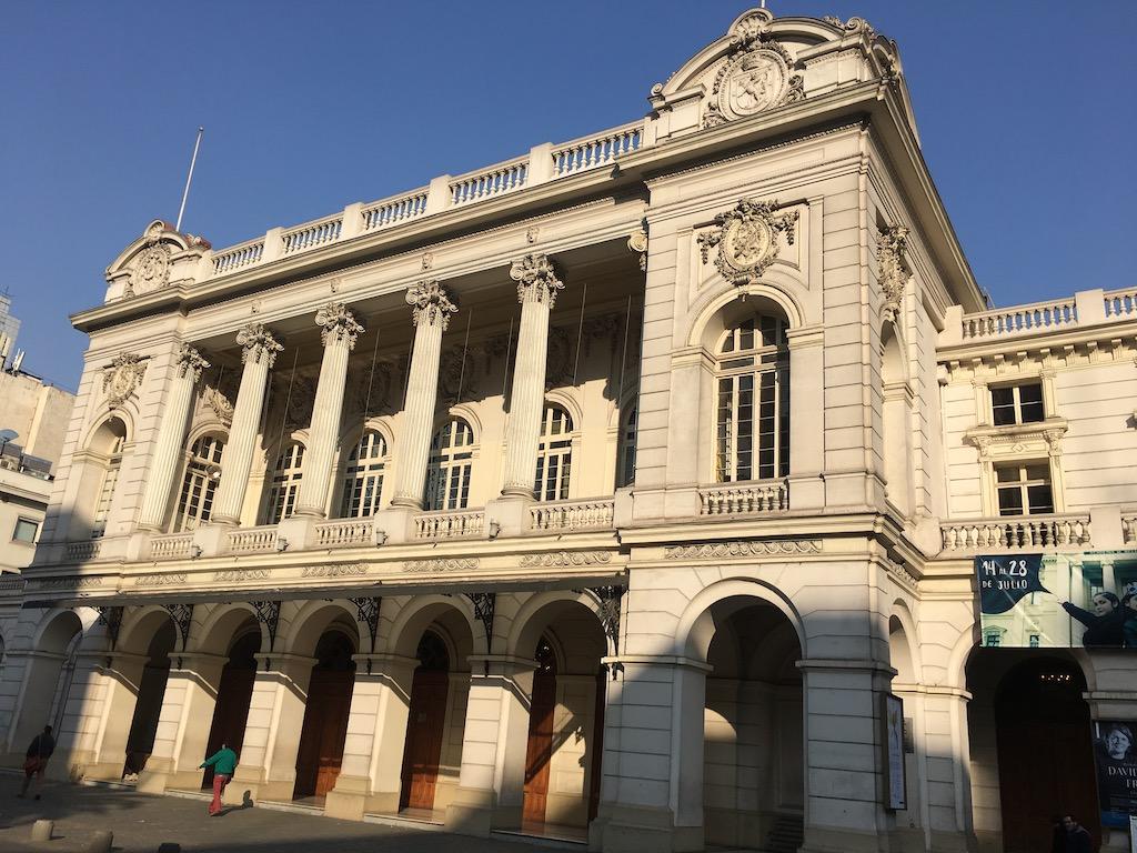 Santiago de Chile, Innenstadt, altes Gebäude