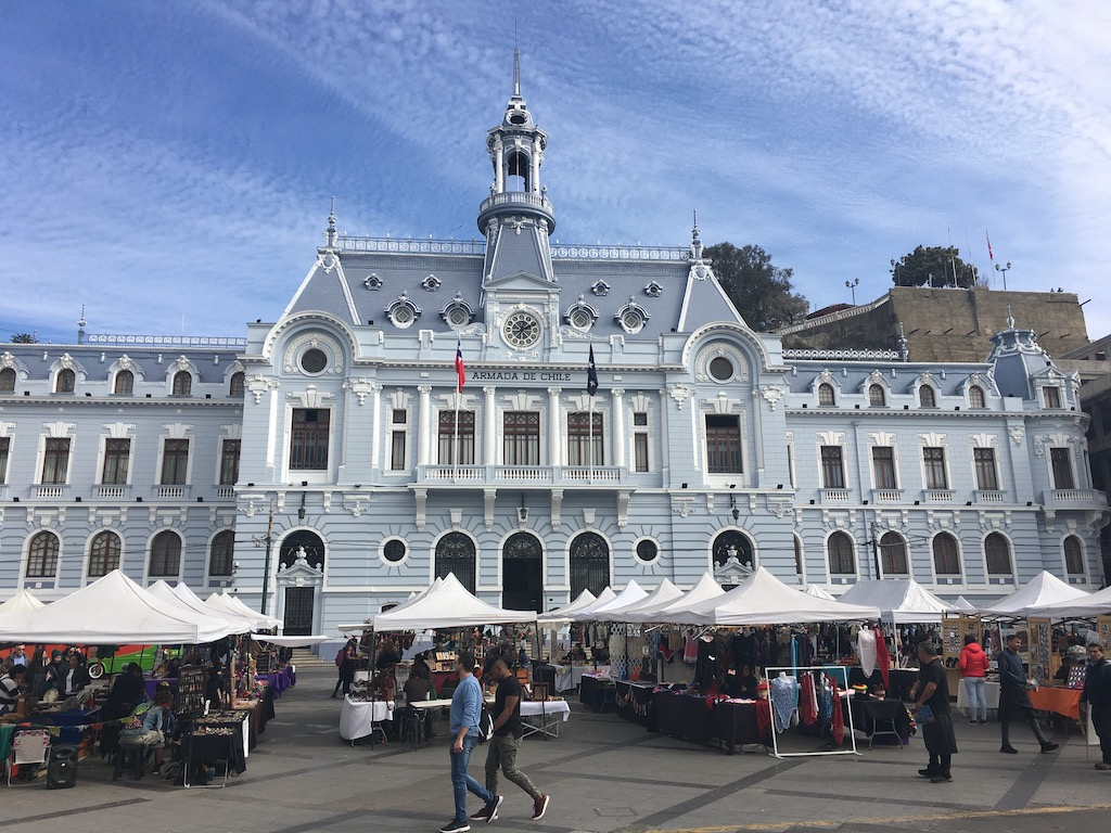 Plaza Sotomayor, Valparaiso