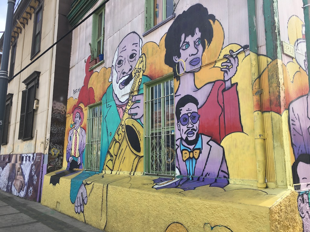 Murales in Valparaiso
