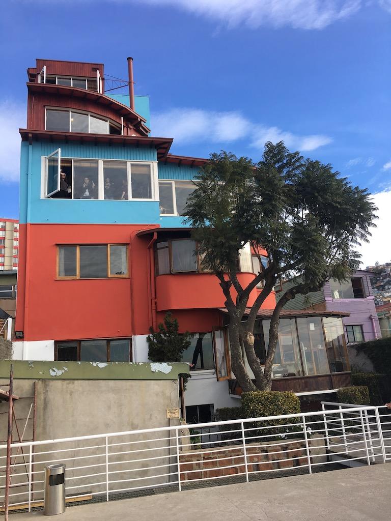 Museo de Cielo Abierto, Haus von Pablo Neruda, Valparaiso