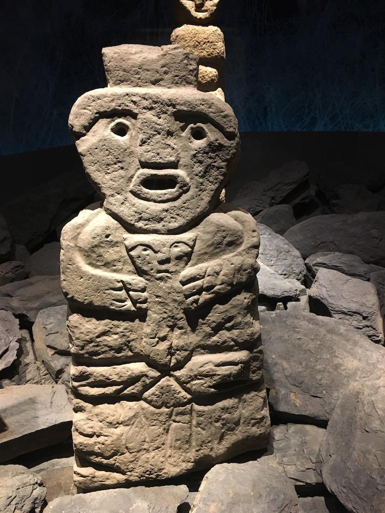 Mapuche Skulptur, Undurraga Weingut