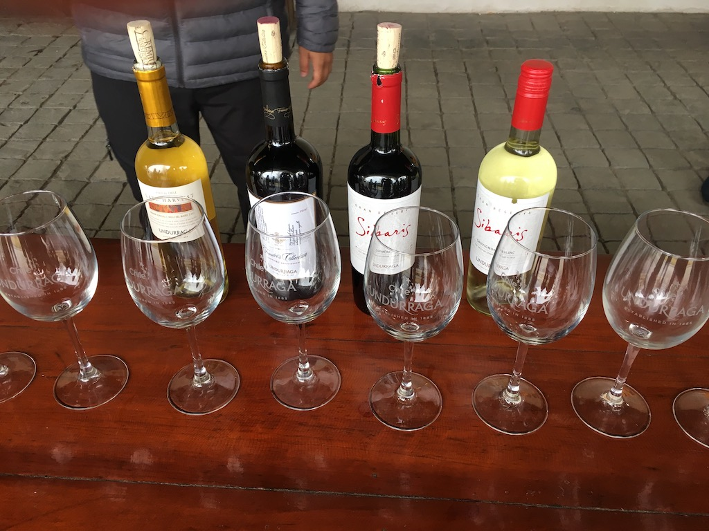 Weinprobe Undurraga