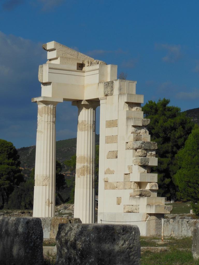 Ruine eines antiken Gebäudes