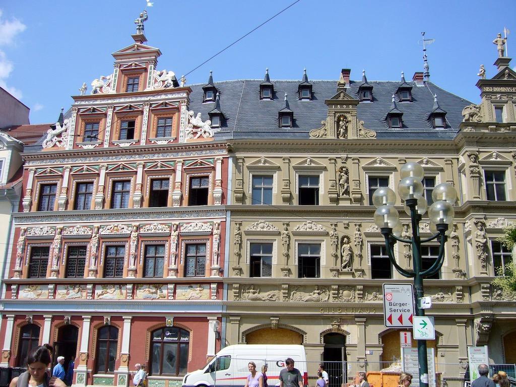 Häuser im Renaissancestil