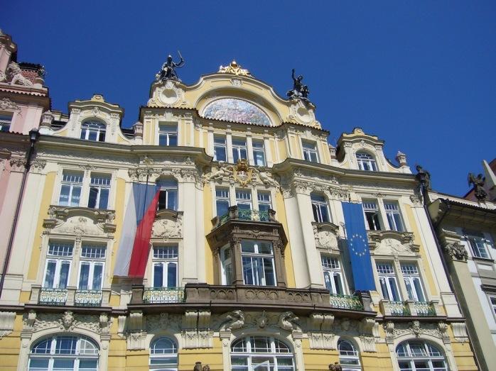 Jugendstil Barock Fassade