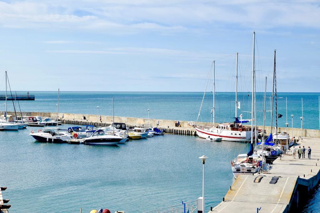 Jachthafen, Meer