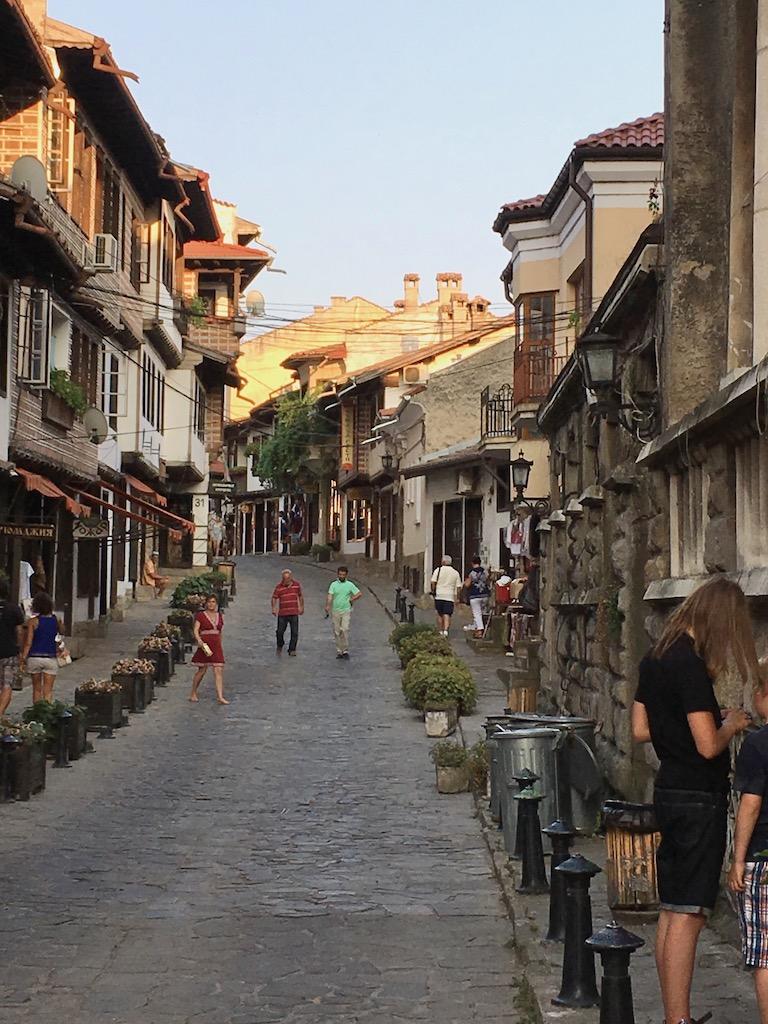 Innenstadt mit Kopfsteinpflaster