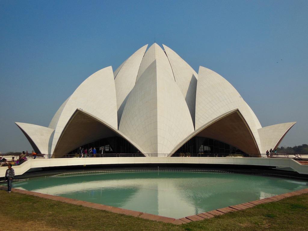 Lotustempel Neu-Delhi