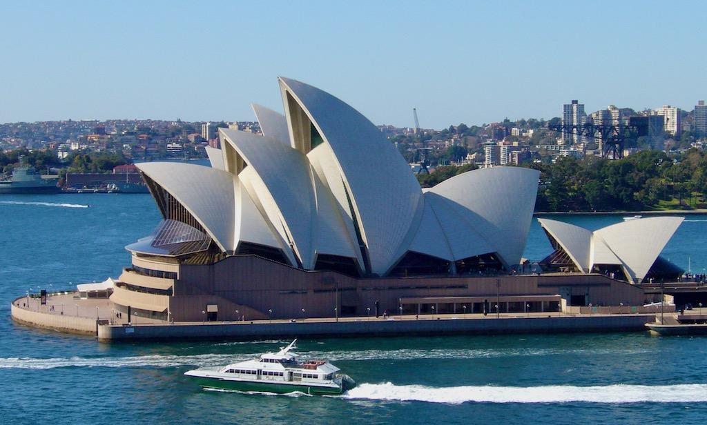 Opernhaus in der Bucht von Sydney