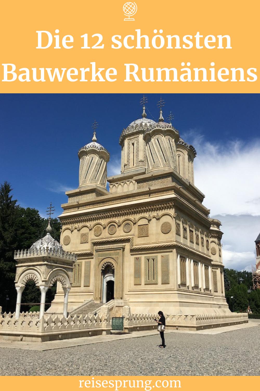 Du findest hier Bauwerke, die die spannende und abwechslungsreiche Architektur Rumäniens zeigen. Komm in dieses großartige Land und lass dich von teilweise wenig besuchten Orten überraschen. Dies ist meine persönliche Auswahl der 12 schönsten Gebäude Rumäniens. #ReiseRumänien #ArchitekturRumänien #UrlaubOsteuropa #IndividualreiseRumänien