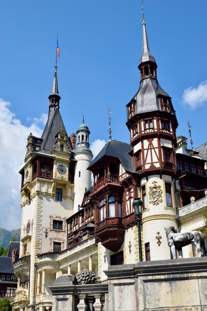 Schloss mit Fachwerk