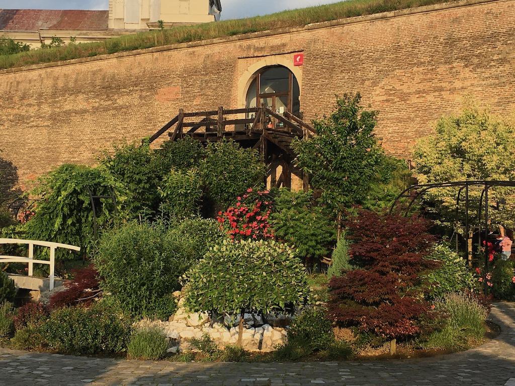 Festungsmauer, Garten