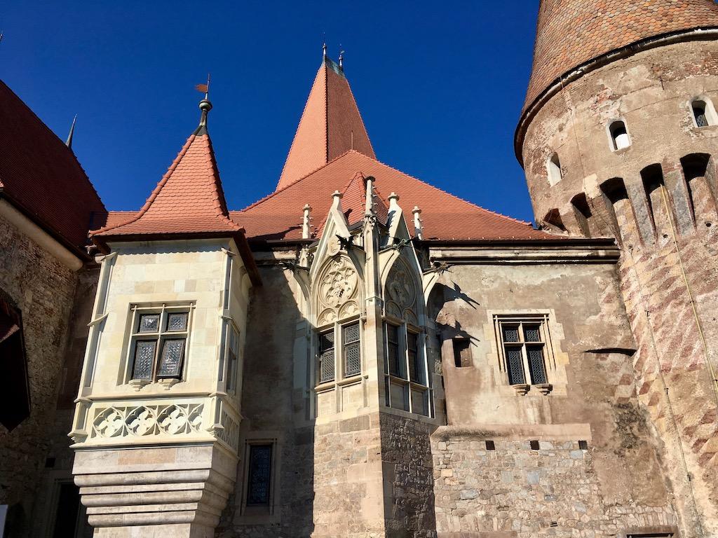Burg, Nahaufnahme