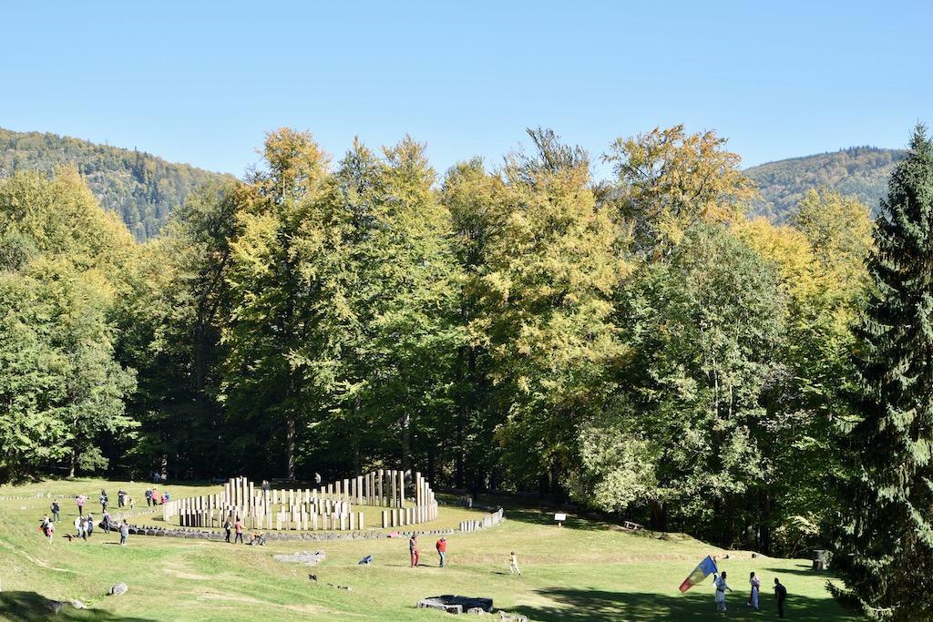 Ruinen, Herbstwald