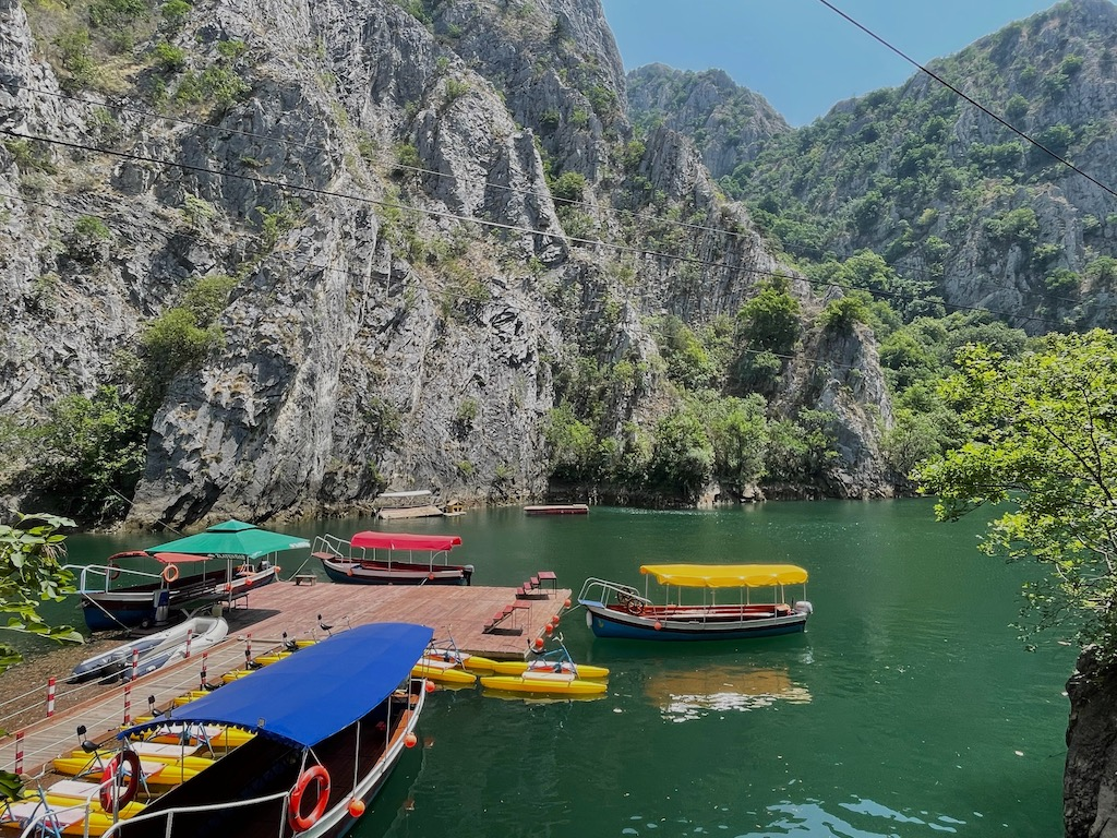 Boote im Canyon