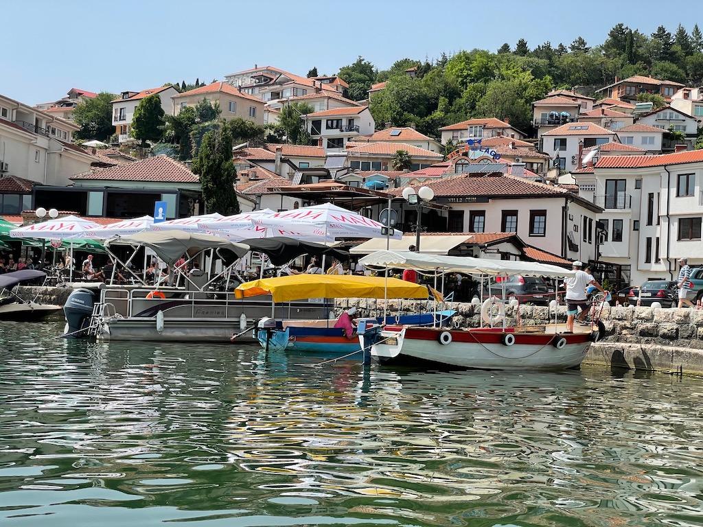 Boote vor Altstadt
